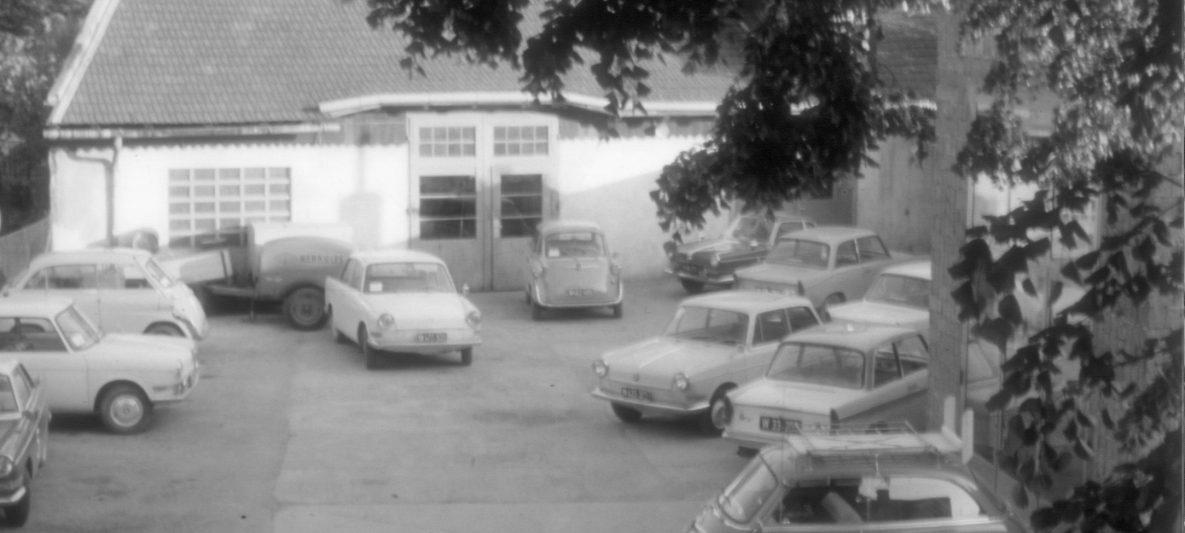 Alter Firmenhof an der Adresse Haupstraße 29 im Jahr 1961