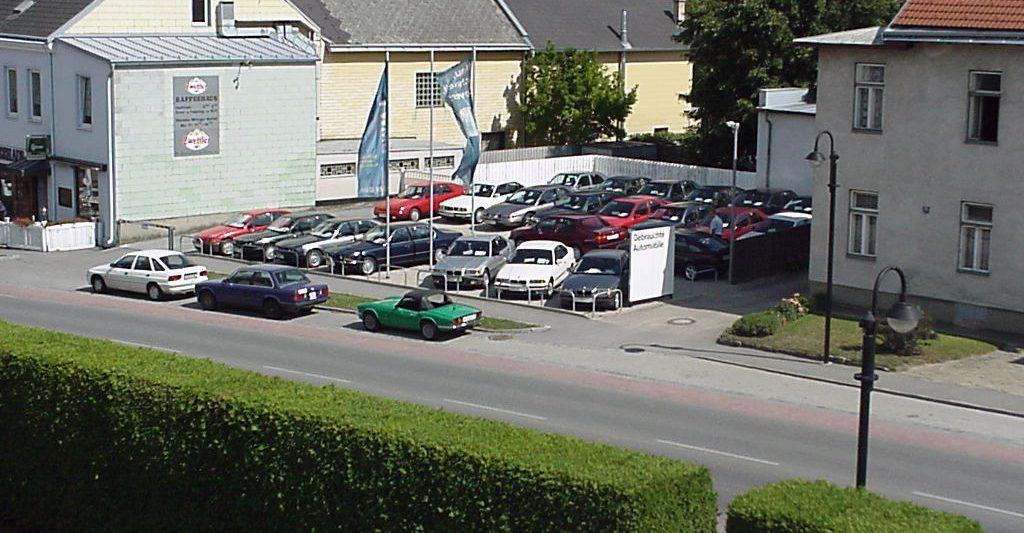 BMW Mann Gebrauchtwagenplatz im Jahr 2003