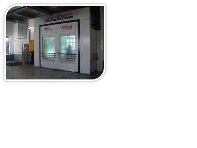 neu installierte Lackierbox im Jahr 2007