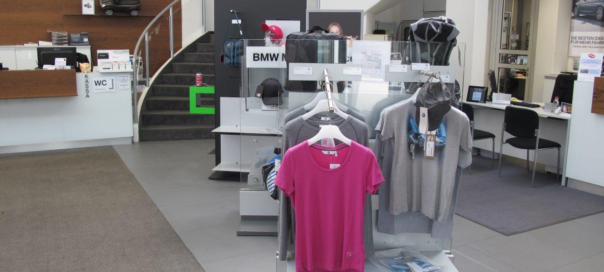 Verkaufsfläche Merchandising im Firmengebäude