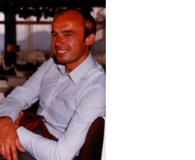 Herr Josef Mann Senior in jungen Jahren