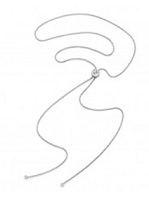 BMW Halskette Damen in Silber mit BMW-Logo