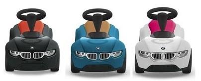 BMW Babyracer Tretauto für Kinder in verschiedenen Farben