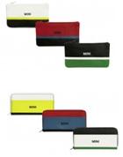 MINI Geldbörserl mit Reissverschluss in verschiedenen Farben (bunt)