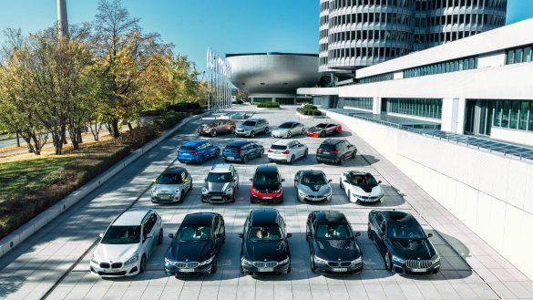 BMW Fahrzeugflotte mit allen Modellen