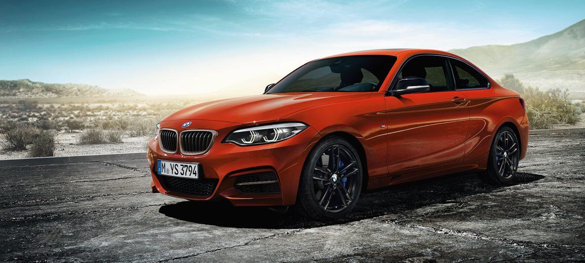 BMW 2er Coupé, Standaufnahme der Front