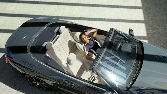 BMW 8er Cabrio Interieur von oben