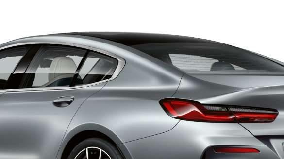 BMW 8er Gran C-Säule mit Finnendesign