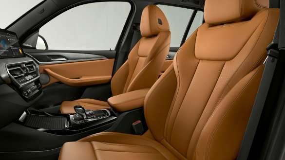 BMW X3 G01 Sportsitze für Fahrer und Beifahrer 2021
