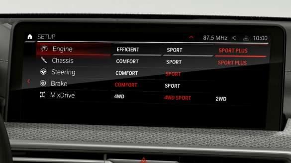 BMW X4 M Competition F98 LCI Facelift 2021 M Setup