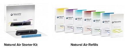 BMW Natural Air Starterkit und Düfte